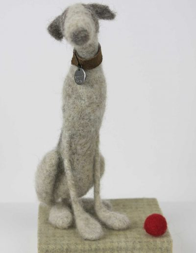 Kate Toms - Mixed Media Dog 2