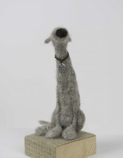 Kate Toms - Mixed Media Dog 1